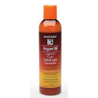 Fantasia Argan Oil Leave-In Curl Detangler Conditioner 237ml