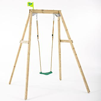 TP Toys Forest Wooden Single Swing Set For Ages 3 - 10 years