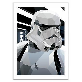 Konst-affisch-storm-Liam Brazier 50 x 70 cm