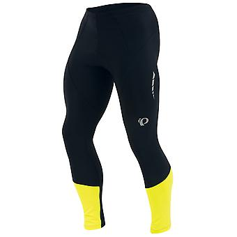 Pearl Izumi Black-Screaming Yellow Elite Thermal Without Chamois Cycling Pants