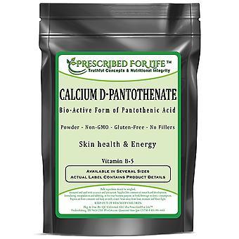 Calcium D-Pantothenate - Bio-Active Form of Pantothenic Acid Powder
