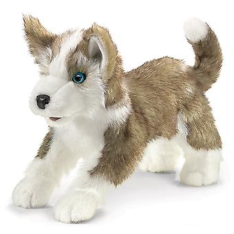 Hand Puppet - Folkmanis - Wolf Pup New Animals Soft Doll Plush Toys 2994