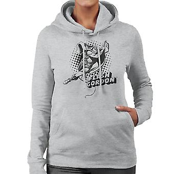 Flash Gordon Seil Swing Frauen's Kapuzen Sweatshirt