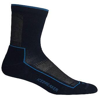 Icebreaker Midnight Mens Hike Cool Lite 3/4 Crew Sock