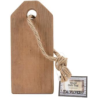 Salvaged Wood Gift Tag 7