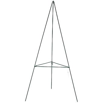 Green Metal Wire Easel-24