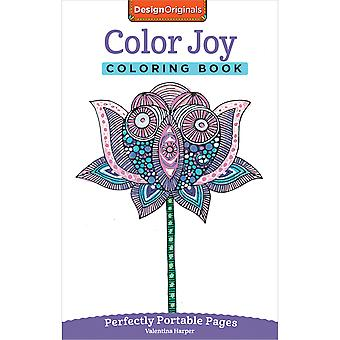 Design Originals-Color Joy Coloring Book DO-5566