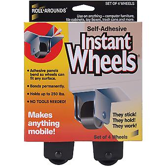 Self Adhesive Instant Wheels 4 Pkg 17234