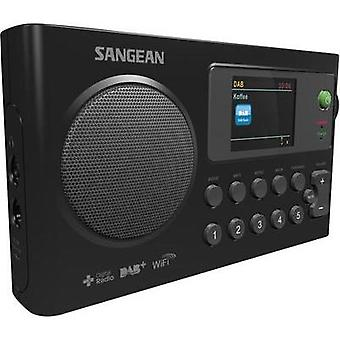 Sangean Portable radio Battery charger Black