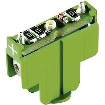 LED Green 12 Vdc RAFI