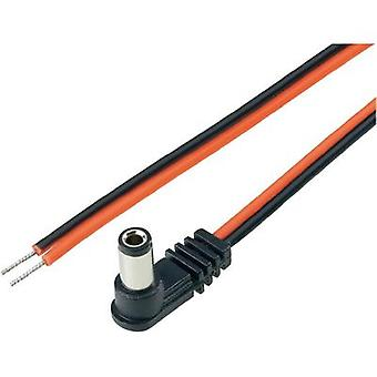 Low power cable Low power plug - Cable, open-ended 5.5 mm 2.5 mm 2.5 mm BKL Electronic 2 m 1 pc(s)