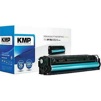 KMP Toner cartridge replaced HP 125A, CB541A Compatible Cyan