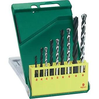 Universal drill bit set 9-piece Bosch Accessories Promoline