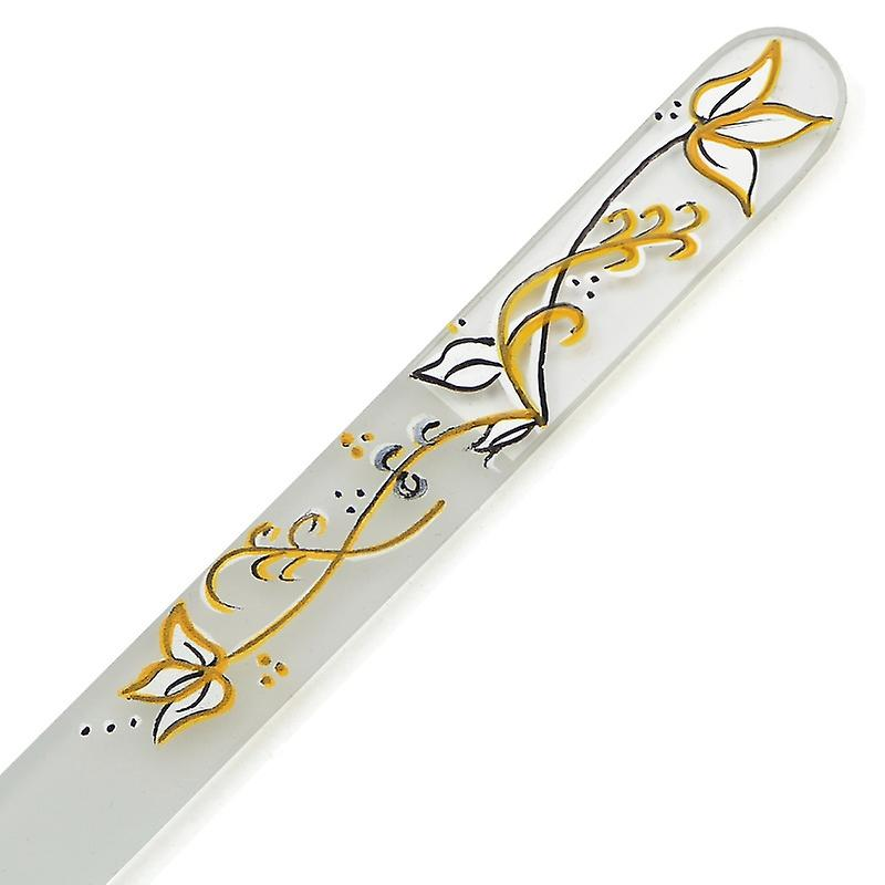 Hand painted glass nail file 303-GM10