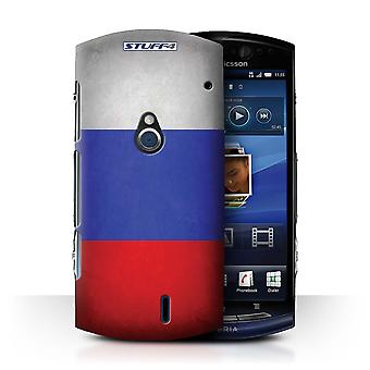 STUFF4 Case/Cover for Sony Xperia Neo/MT15i/Russia/Russian/Flags