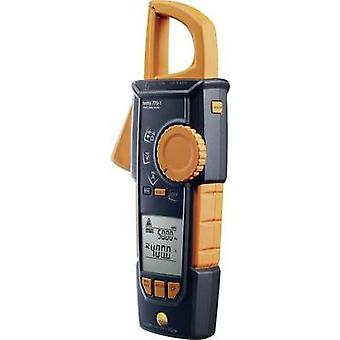 Current clamp, Handheld multimeter digital testo 770-1 Calibrated to: Manufacturer's standards (no certificate) CAT III