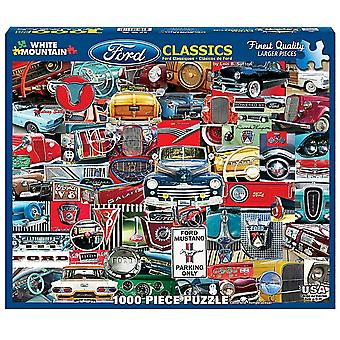 Ford USA Classics 1000 piece jigsaw puzzle 760mm x 610mm  (wmp)