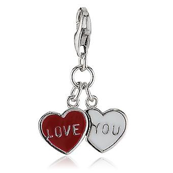 s.Oliver jewel ladies pendant charm silver Love You SOCHA/167-396172
