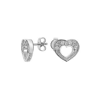 ESPRIT women's earrings silver cubic zirconia passion ESER91278A000
