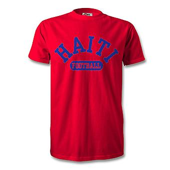 T-Shirt de Football Haïti