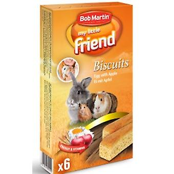 Bob Martin My Little Friend Egg Biscuits With Apple 6pk 60g (Pack of 6)