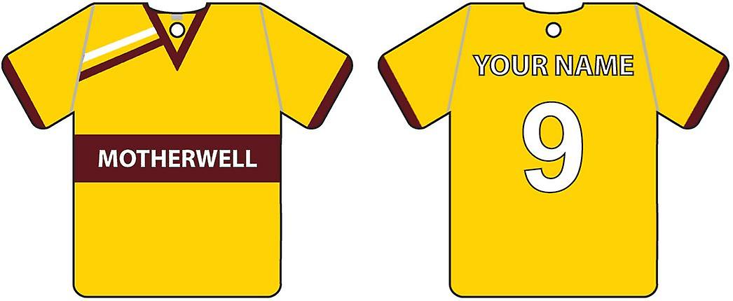 Personalised Mautrewell Football Shirt Car Air Freshener