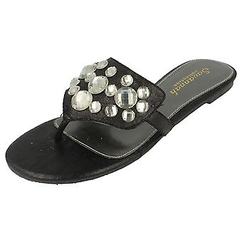 Damer Savannah flade indlæg, sandaler