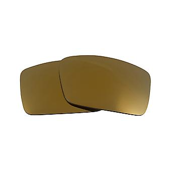 Best SEEK OPTICS Replacement Lenses for Oakley FUEL CELL 24K Gold Mirror