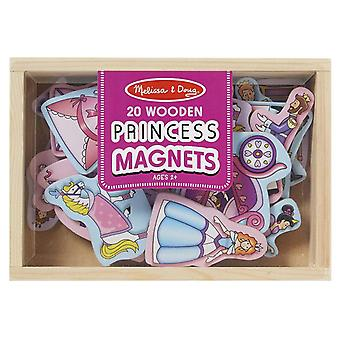 Melissa and Doug Magnetic Wooden Princess