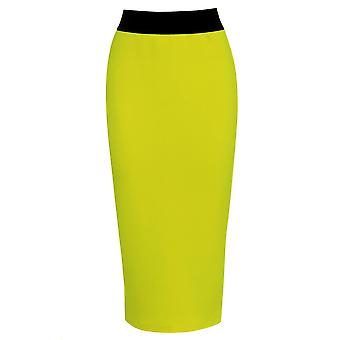 Love2Dress Elastic Waist Band Fluorescent Skirt