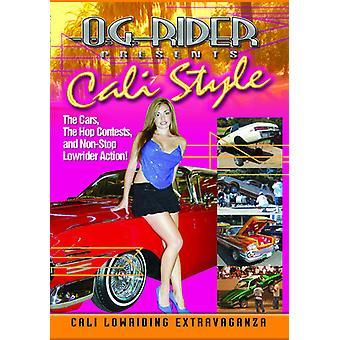 Og Rider: Cali stil [DVD] USA importerer