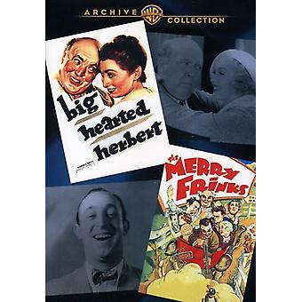 Stor Hearted Herbert/Merry Frinks [DVD] USA importere