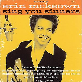 Erin McKeown - importación de Estados Unidos cantan pecadores [CD]