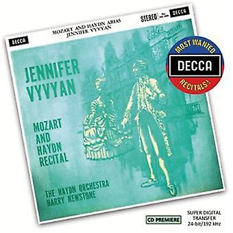 Vyvyan, Harry Newstone/Haydn Orchestra - Most Wanted Recitals: Jennifer Vyvyan-Mozart & [CD] USA import