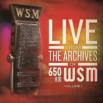650 er Wsm Live fra arkiver volumen - 650 er Wsm Live fra the arkiver volumen [CD] USA import