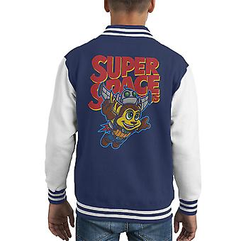 Super Space Bros Ratchet And Clank Kid's Varsity Jacket