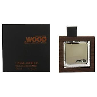 Dsquared He Wood Rocky Mountain Edt Vapo 50 Ml (Homme , Parfums , Parfums)