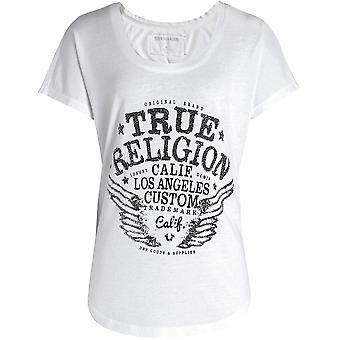 Vraie Religion embelli oeuvre T-Shirt