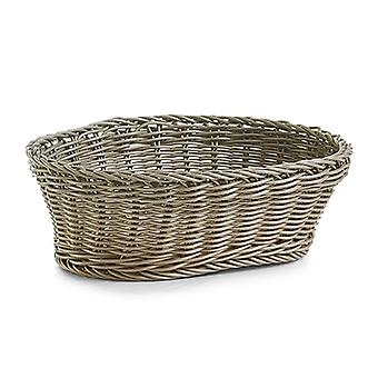 Oval Polywoven Plastic Bread Basket