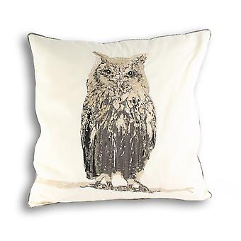 Riva Home Owl Square Cushion Cover
