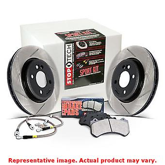 StopTech Sport Kits 978.34015F Front Fits:BMW 2009 - 2011 335D  2007 - 2011 335