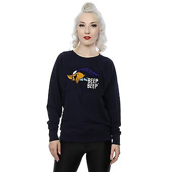 Looney Tunes Damen Road Runner Beep Beep Sweatshirt
