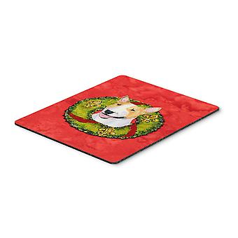 Carolines Treasures  SS4185MP Bull Terrier Mouse Pad, Hot Pad or Trivet