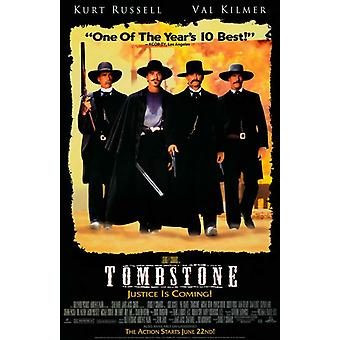 Tombstone Movie Poster (11 x 17)