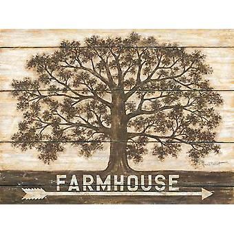 Farmhouse Poster Print by Annie LaPoint (24 x 18)