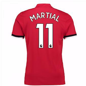2017-2018 Man United Home Shirt (Martial 11)