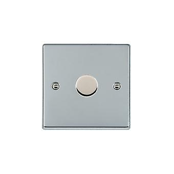 Hamilton Litestat Hartland Bright Chrome 1g 100W LED Dimmer BC