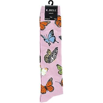 Novelty Knee High Socks-Butterflies KNEEHIGH-6N066