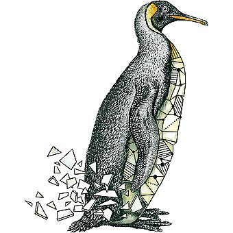 Carabelle Studio Cling Stamp A7-Penguin Origami SA70141
