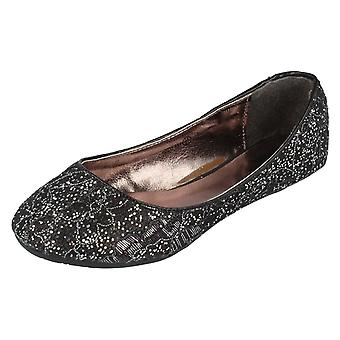Girls Cutie Glitter Shoes H2239